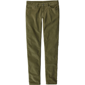 Patagonia W's Fitted Corduroy Pants Fatigue Green